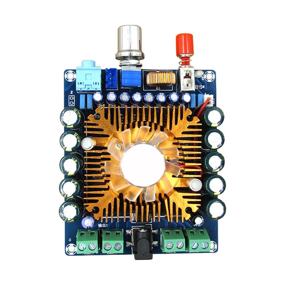 4 Channel Hifi Sound Quality Power Amplifier Board 50w 200w Pcb Hi Fi Car Audio Diy Digital With Fan