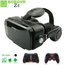 VR BOÎTE BOBOVR Z4 mini VR Lunettes lunettes de Réalité Virtuelle 3D lunettes google Carton 2.0 bobo vr casque Pour 4.3-6.0 smartphone