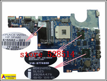 original for G42 CQ62 CQ62-3000 Non-Integrated Series laptop Motherboard 615582-001 100% Test ok