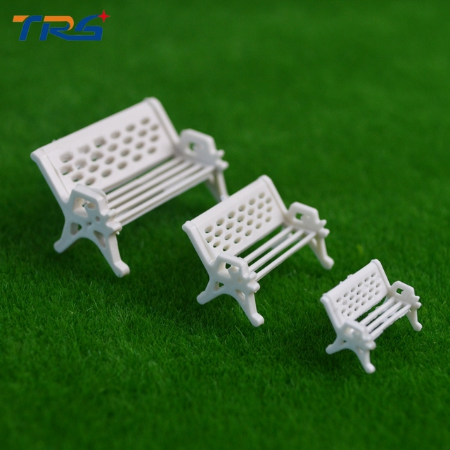 teraysun architectural model making ho n scale model bench chair