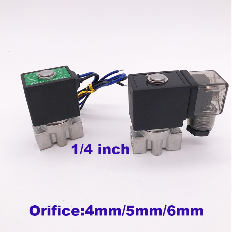 Back To Search Resultshome Improvement Valve Apprehensive Gogo 2 Way Sus304 Water Valve Normally Close Port G1/4 12v 24v Dc Orifice 4mm/5mm/6mm Spu-04/05/06 Low Pressure Solenoid Valve Clients First