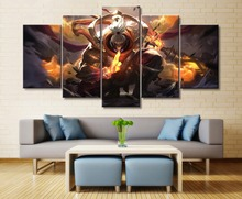 5 Piece Canvas Decorative HD Print Games League of Legends jacks Wall Art For Living Room Painting