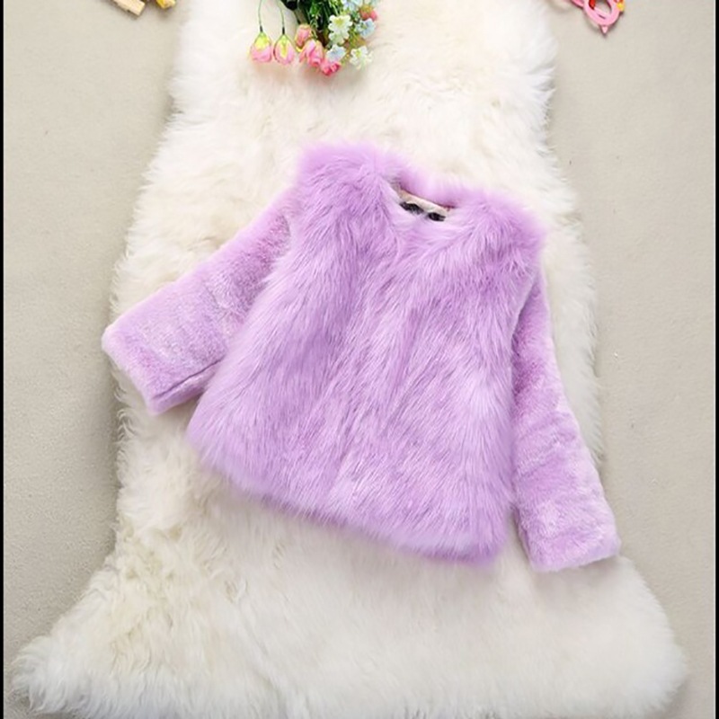 autumn and winter children imitation Fox fur rabbit fur grass coats Female business coats and cotton thick fur Jackets FPC-193 stylish rabbit and grass pattern 10cm width wacky tie for men