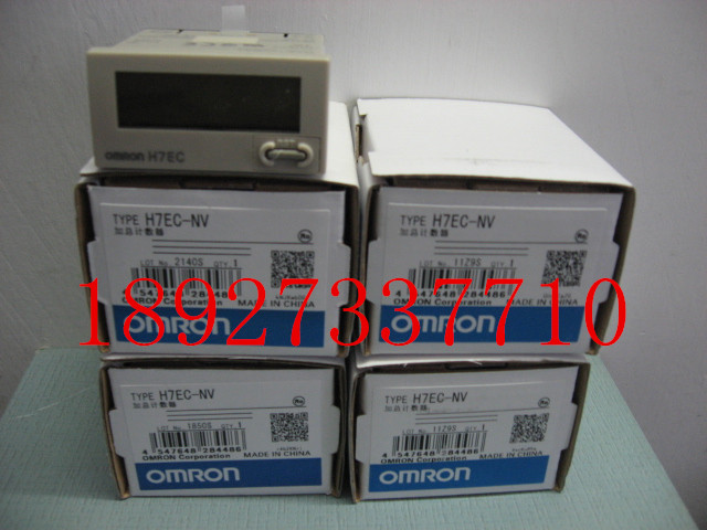 [ZOB] Supply of new original OMRON electronic counter H7EC-NV voltage output --2PCS/LOT relay цены