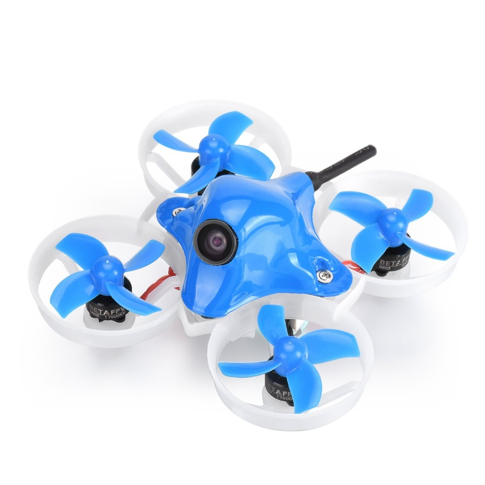 Beta65X 2S Whoop Quadcopter with 0802 17500KV motor 2S F4 FC board Z02 AIO Camera 31mm 4 blades prop 1.0mm shaft hole 260mAh bat