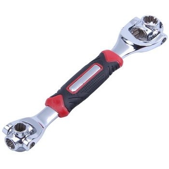 Nuevo enchufe de pinzas de tigre 48 en 1 funciona con pernos de espiral Torx 360 grados 6-Punto, 12-Punto, Torx, Furnit cuadrado Universal