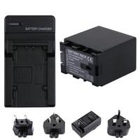 RP 1Pc 4450mAh BN VG138 Batteries + Charger Kits for JVC Everio GZ E Series BN VG121U BN VG107U BN VG114 Camcorders
