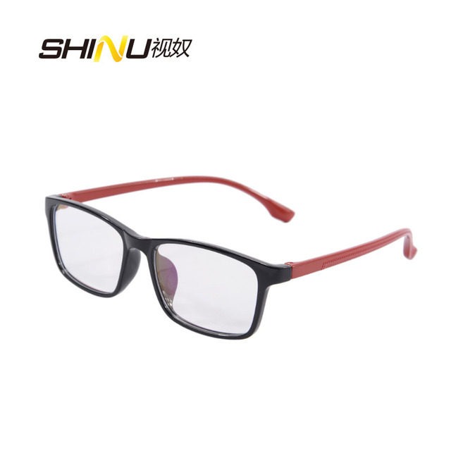 8714fb703b079 SHINU grife armações de óculos preto quadro olho óculos para mulheres dos  homens óculos sem grau