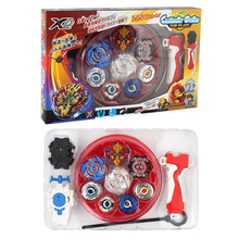 2018 New Beyblade Metal Fusion Set 4pcs Beyblades With Launchers Beyblade Arena Constellation Spinning Top Bayblade
