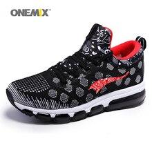 Onemix 2017 nuevo cojín de la zapatilla de deporte zapatos de hombre medio superior athletic zapatos corrientes femeninos zapatos de deporte al aire libre tamaño de la ue 36-46