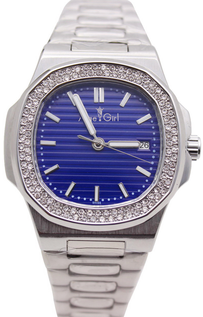 Luxury Top Brand New Automatic Mechanical Mens Watch 2 Rows Diamonds Transparent Glass Back Silver Black Blue Luminous WatchesLuxury Top Brand New Automatic Mechanical Mens Watch 2 Rows Diamonds Transparent Glass Back Silver Black Blue Luminous Watches
