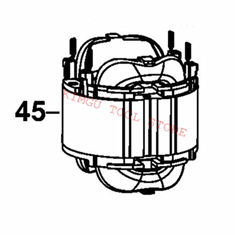 AC220V 230V N457641 Stator поле заменить для Dewalt DWE6411
