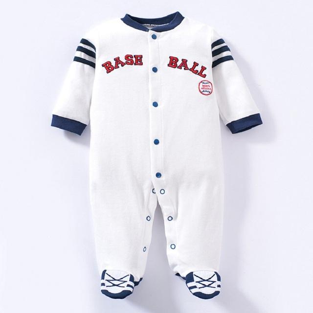 Bebê menino roupas esportivas da moda newborn garcon vetement bebe roupas de algodão macacão infantil macacão de manga longa romper do bebê