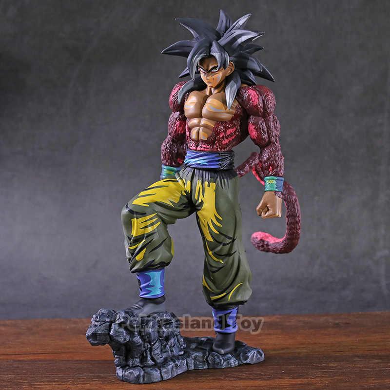 Dragon ball z gt super saiyan 4 son goku mangá dimensões figura pvc collectible modelo de brinquedo figurinhas brinquedos
