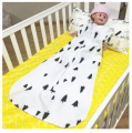 Spring Autumn newborn 2 layers zipper Sleep sacks 100% cotton 0-24 months baby sleeveless sleeping bag baby sacks