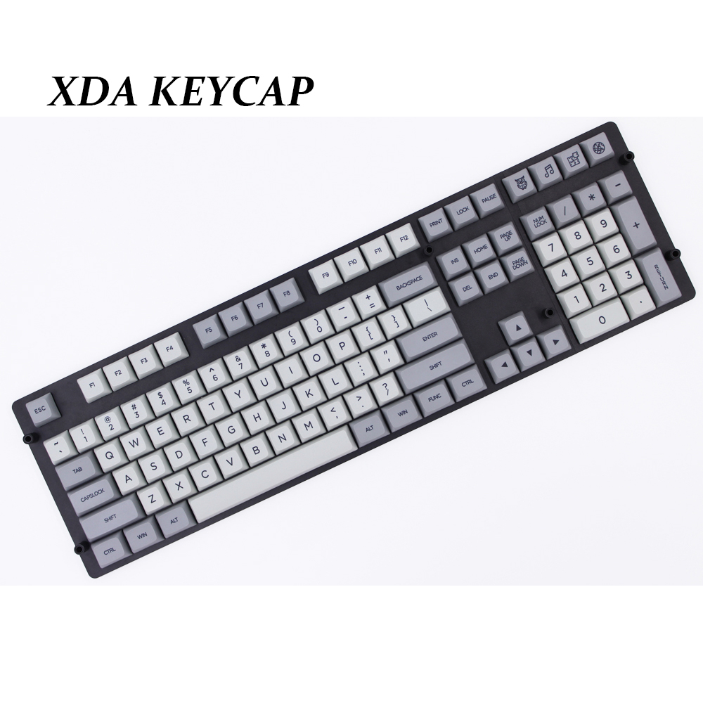 MP 108 Keys PBT Keycaps XDAS Prlfiles Granite Color Dye Sublimated For Mechanical Gaming Keyboard