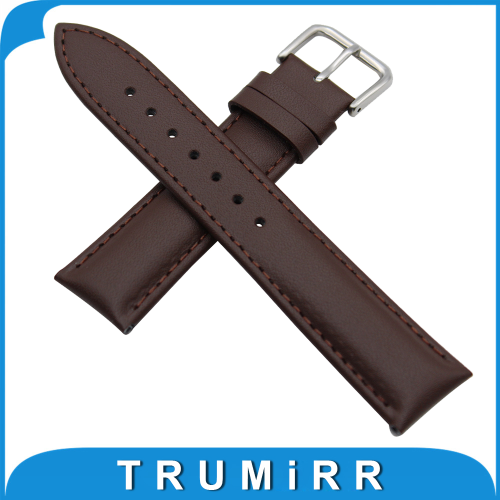 Genuine Leather Watch Band 18mm 20mm for DW Daniel Wellington Stainless Buckle Strap Wrist Belt Bracelet Black Brown +Spring Bar 18mm 20mm silicone rubber watch band for dw daniel wellington wrist resin strap stainless stee safety buckle bracelet tools