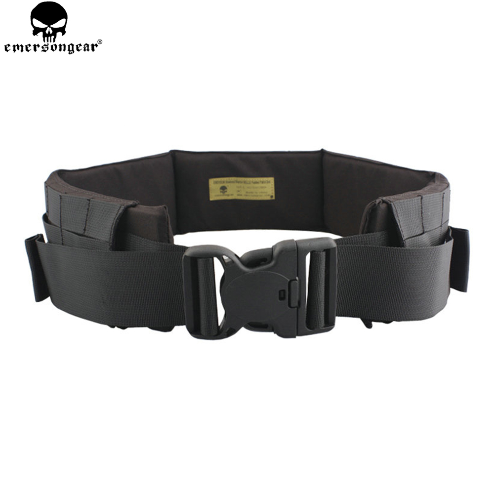 EMERSONGEAR Padded Patrol Belt Fight Light Battle Belt Outdoor Hunting Military Army Tactical Combat Molle Waist Belt EM1760 стоимость