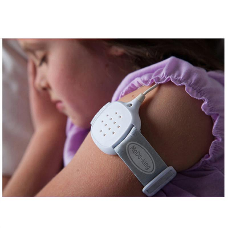 2018 Brand New Baby Urine Reminder MoDo-king Newborn Bedwetting Alarm Kids Wet Diaper Alarm Children's Wet Reminders Free