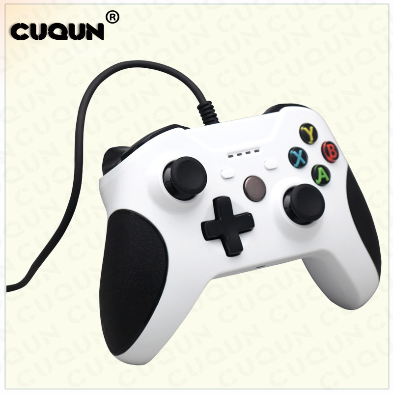 USB Wired Gamepad Remote Controller For XBOX One Slim S Controller White Joystick for XBOX One