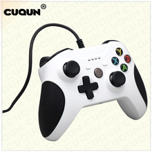 USB Wired Gamepad Remote Controller For XBOX One Slim S Controller White Joystick for XBOX One Slim Game Controlle