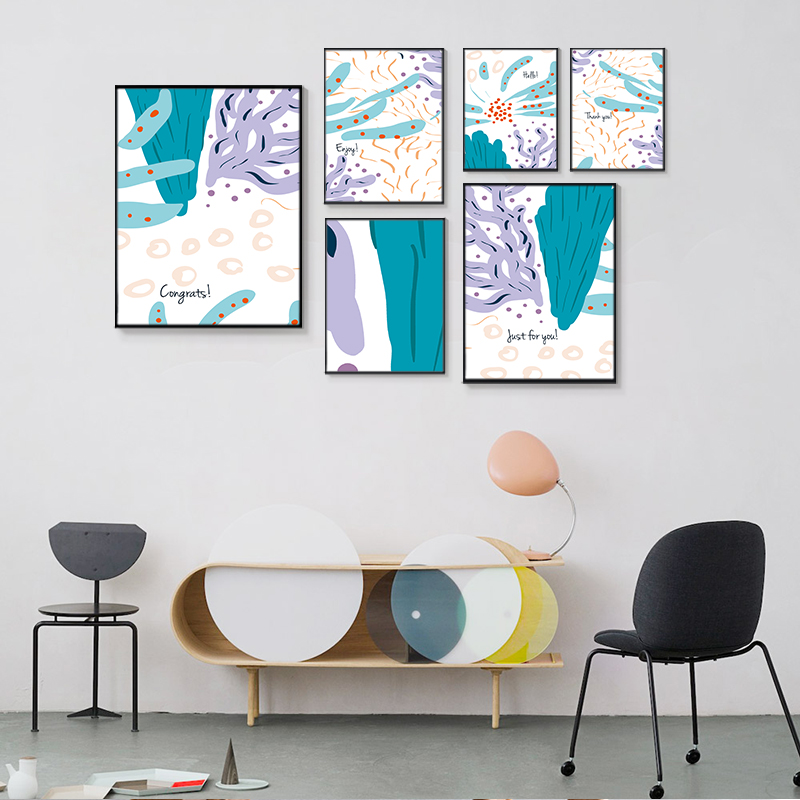 Fashion New Canvas Paintings Posters Prints,Abstract