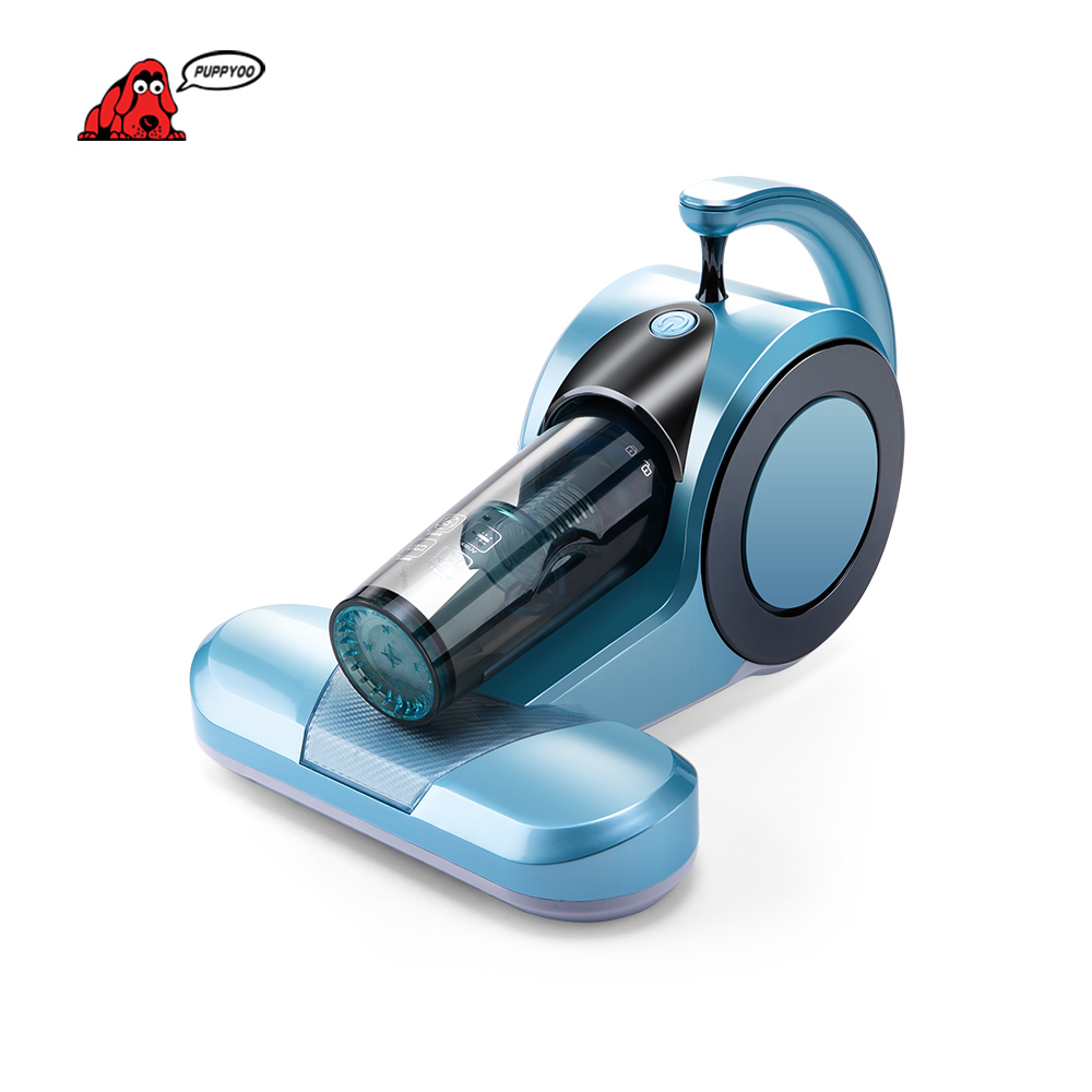 PUPPYOO Household Mites-killing UV Mattress Vacuum Cleaner for Home Handheld Aspirator Dust Collector WP605 killing floor ключ по низкой цене