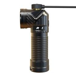 Rofis R1 CREE XM-L2 U2 LED 900 люменов перезаряжаемый налобный фонарь с регулируемой головкой