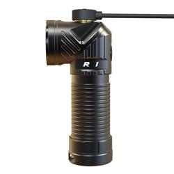 Rofis R1 CREE XM-L2 U2 LED 900 lumens lampe de poche rechargeable à tête réglable