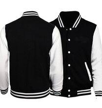 Горячая весна осень 2019 мужская куртка бейсбольная одежда повседневная мужская куртка пальто для мужчин толстовки Harajuku спортивные костюмы куртка-бомбер