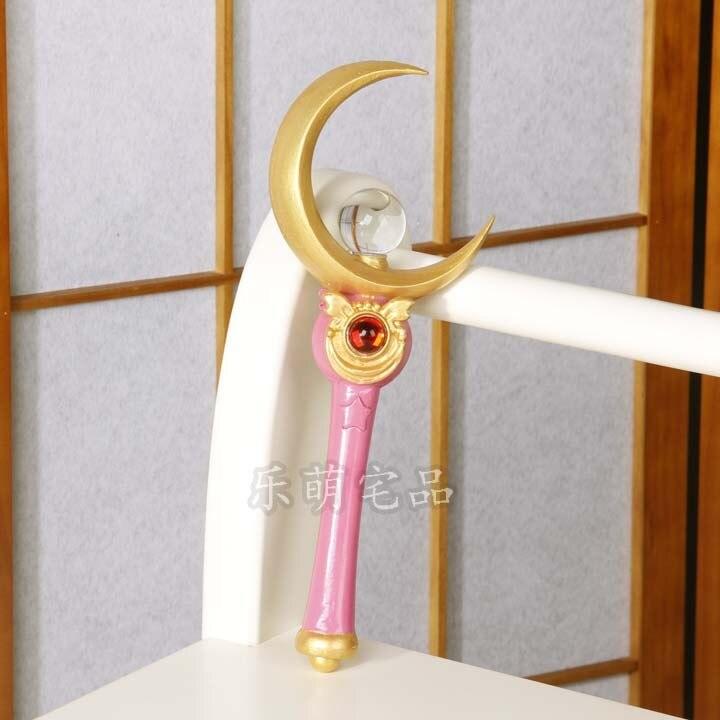 Сейлор Мун 9 цветов Лоб V реквизит и Usagi Tsukino Луна тростник мощность палочка
