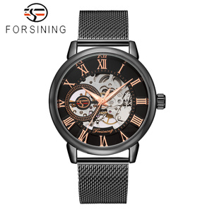 Image 5 - FORSINING Men Watch Top Luxury Brand Fashion Sports Mechanical Watches Mens Business Waterproof Wristwatch Relogio Masculino