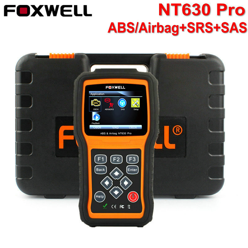 Car Diagnostic-Tool Foxwell NT630 Pro OBD2 Engine ABS SRS Airbag Air Bag SAS Crash Data Reset Code Reader OBD Automotive Scanner цены онлайн
