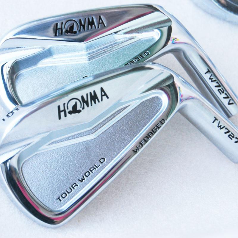 Nove HONMA glave za golf HONMA TW727V Golf likalniki 4-10 9 kosov TW727V likalna glava Klubi Golf Set Brez likalne gredi Cooyute Brezplačna dostava