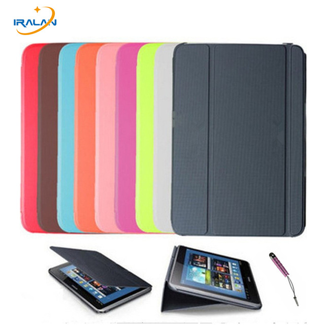 2018 New Stand PU Leather Cases Book case for samsung galaxy Note 10.1 N8000 N8010 N8020 n8013 tablet cover+stylus+ Screen film protective glossy screen guard for samsung galaxy note 10 1 gt n8000 n8010 translucent white
