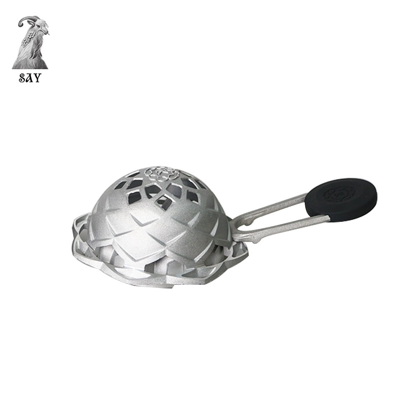 SY Hot Sale Lotus Metal Charcoal Holder Heat System Hookah Sheesha Chicha Narguile Accessories