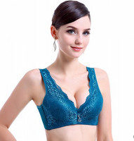 wire free push up comfortable Mother bra thin cup vest bra full cup bras women free shipping AW7471