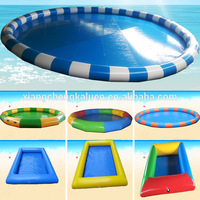 Promo customized adult kids swimming water pool inflatable pool
