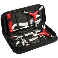 Bicycle repair kit box 8 in 1 mountain bike professional repair tool spoke wrench kit hex screwdriver bicycle tool