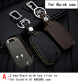 Genuine Leather CAR KEY CASE For BUICK EXCELLE XT ENCORE LACROSSE OLD GL8 VERANO Use Automobile Special-purpose CAR KEY HOLDER