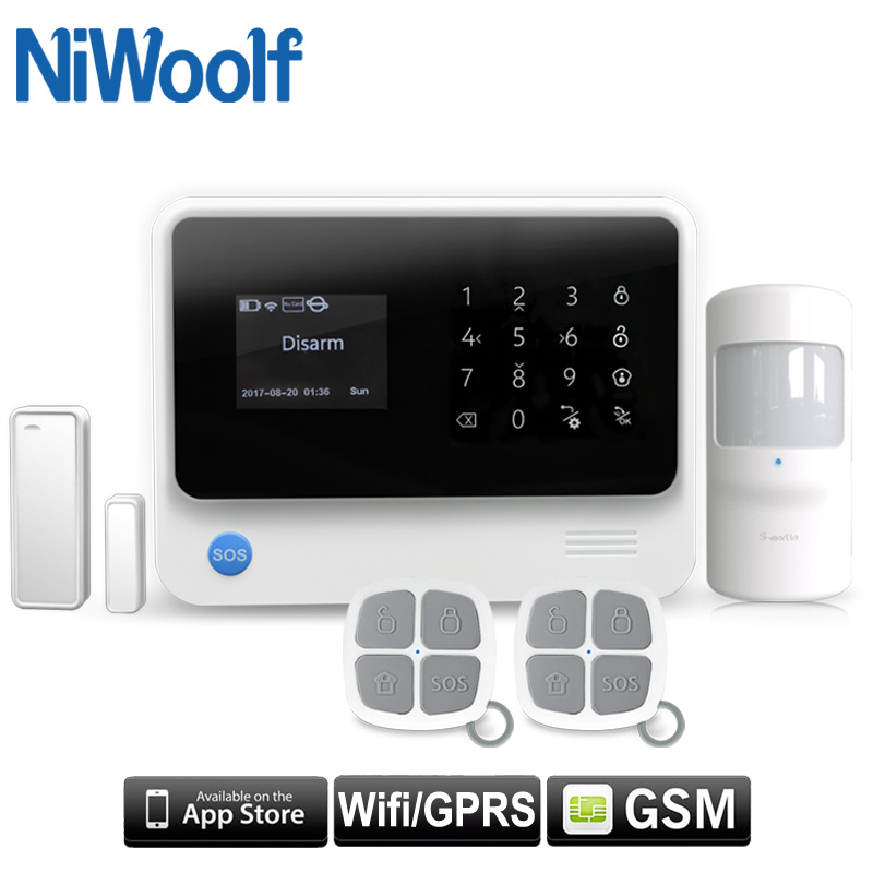 NEW Earykong G90B Plus WiFi GSM GPRS Wireless Burglar Alarm System, Support Netherlands / French / Russian / Spanish / English