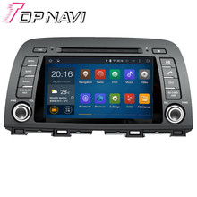 Quad Core Android 5.1 Car DVD For MAZDA CX-5 2012- /MAZDA 6 Third Generation GJ 2012-  With 16 GB Flash Mirror Link Wifi BT GPS