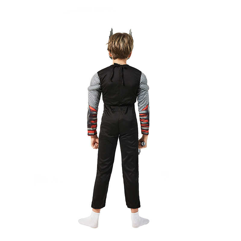 Super LOW ราคาคุณภาพดีเด็ก Superhero Thor กล้ามเนื้อฮาโลวีน COSPLAY Carnival FANCY ชุดเครื่องแต่งกาย