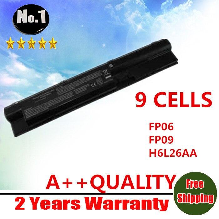 Prix pour En gros New 9 cellules batterie d'ordinateur portable pour HP ProBook 440 445 450 455 470 HSTNN-W98C HSTNN-W99C HSTNN-YB4J FP06 livraison gratuite