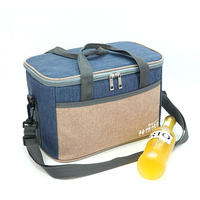10L Ant cloth waterproof cooler bag picnic thermal insulated ice pack fresh thermo food cool wine lunch box shoulder bags