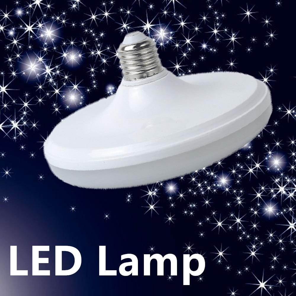 High Power UFO E27 LED Lamp 12W 15W 18W 20W 24W 36W SMD 2835 Led Bulb AC 220V White Warm White Energy Saving Led Lampada Light