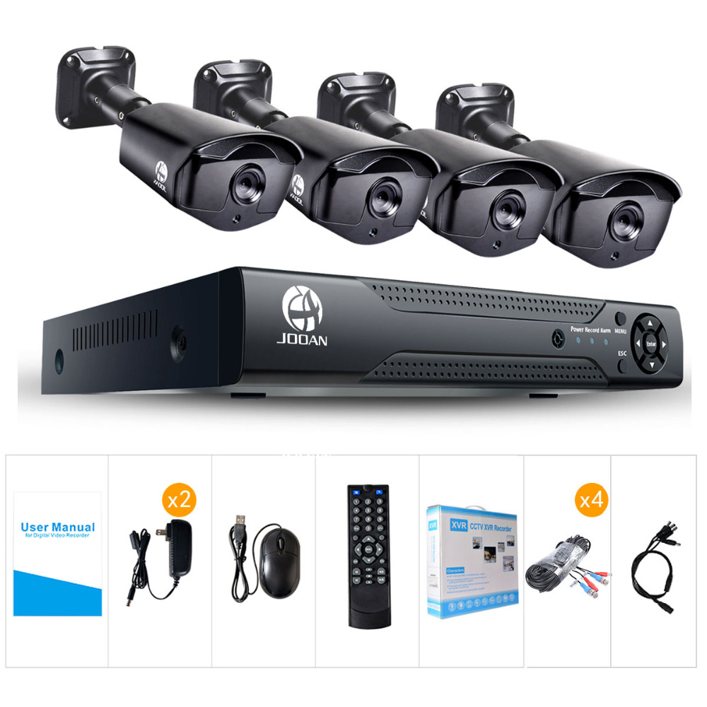 Image 4 - JOOAN 8CH 1080N CCTV DVR Home Security Camera System 1080p Waterproof Outdoor Video Surveillance Kit videosorveglianza-in Surveillance System from Security & Protection