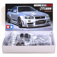 OHS Tamiya 24282 1/24 Nismo Skyline GTR R34 Z Tune Car Model Building Kits G