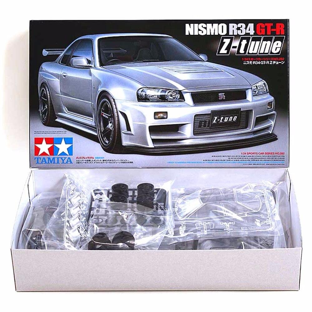 OHS Tamiya 24282 1/24 Nismo horizon GTR R34 z-tune Kits de construction de modèles de voiture G