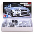OHS Tamiya 24282 1/24 Skyline R34 GTR Nismo Z-Tune Car Model Building Kits